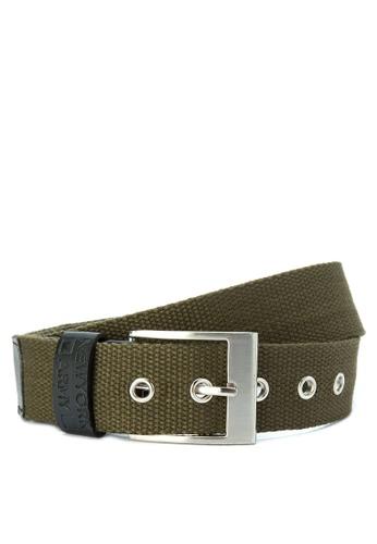 Greatvalueplus green Newyork Army Men's Casual  Belt DE7E4ACD3D2E6CGS_1