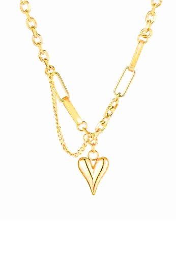 CELOVIS gold CELOVIS - Courtney Love Double Layer Necklace 672EDACA0F98FEGS_1