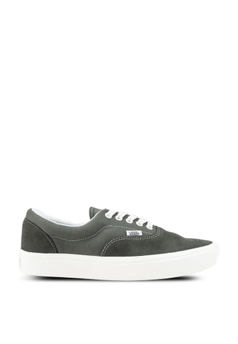 VANS grey ComfyCush Era Ripstop Sneakers 1F6FASH8DDC190GS_1