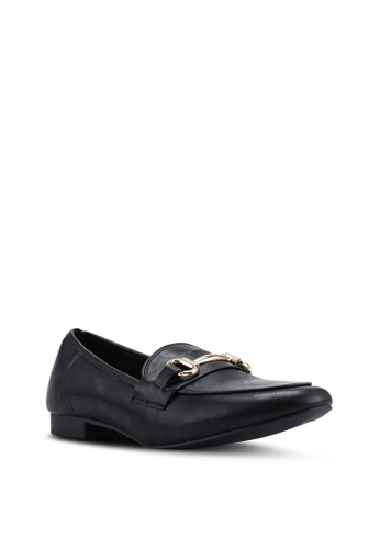 8cfcb5f9be3 Buy Dorothy Perkins Black Lilo Snaffle Loafers Online