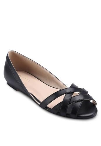 Weave Strap Ballerinas, 女鞋,zalora 心得 鞋