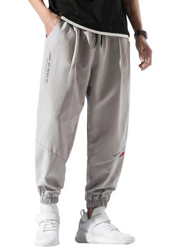 Twenty Eight Shoes grey VANSA  Solid Color Casual SweatPants  VCM-P124 5C05EAA8ACCCD7GS_1