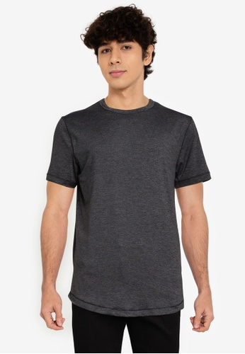 Abercrombie & Fitch black Air Knit Crew T-Shirt 60D9DAA31790B0GS_1