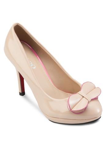 蝴蝶結高跟鞋,esprit女裝 女鞋, 鞋