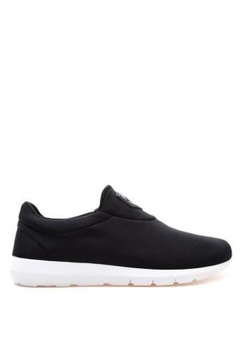 World Balance black and white Lite Flex MS Sneakers WO444SH96ZVRPH_1