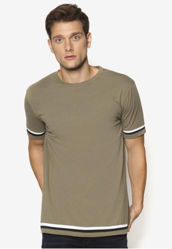 撞色條紋短袖TEE、 服飾、 服飾NewLook撞色條紋短袖TEE最新折價