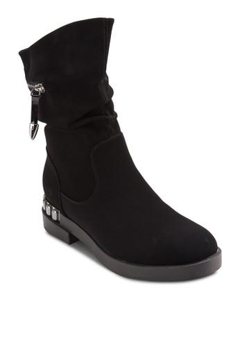 Zip Desesprit地址ign Boots, 女鞋, 鞋