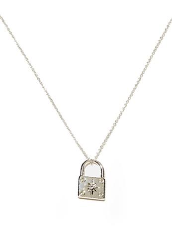 Rubi silver Premium Pendant Necklace 2F8ECAC44F905CGS_1
