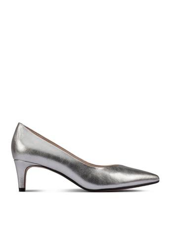 Clarks CLARKS Laina55 Court2 Silver Metallic Womens Dress Shoes 720FCSH49F30FDGS_1