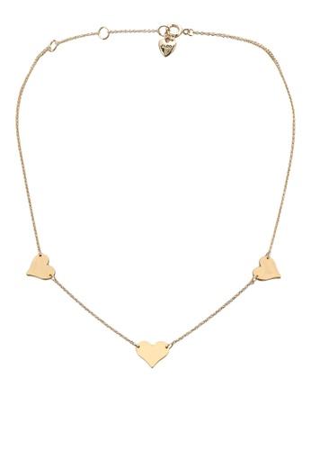 ALDO gold Iamlove Necklace A1360AC25DD402GS_1