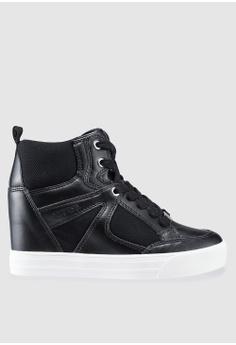 441882d36f4c34 Guess black Tonight Hidden Wedge Sneakers 0FEB1SHA3FA3F3GS 1