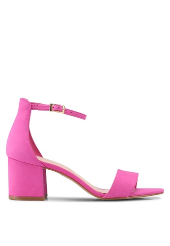 ALDO 粉紅色 Villarosa Heeled Sandals 6A758SH3BA27F8GS_1