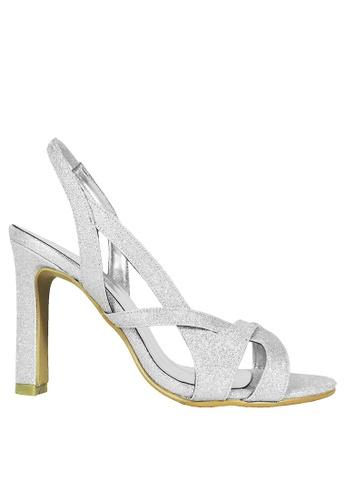 Jacque silver Gleen Silver Heel JA262SH92NETMY_1