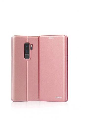MobileHub pink XUNDD Saina Folio Case For Samsung Galaxy S9 Plus 241F4ACD607B89GS_1