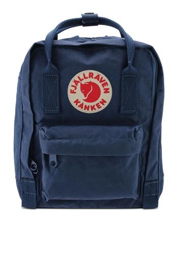 Fjallraven Kanken blue Kanken Mini Backpack FJ242AC05KNUID_1