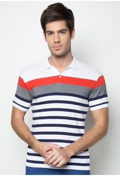 First Striped Polo