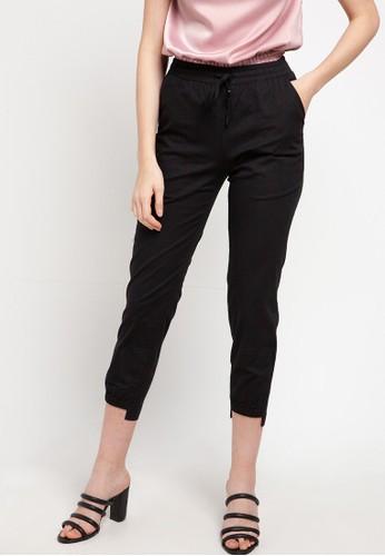 SIMPLICITY black Relax Pants 6744CAAC0619F8GS_1