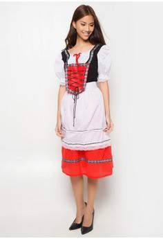Karnival Bavarian Girl Costume Adult