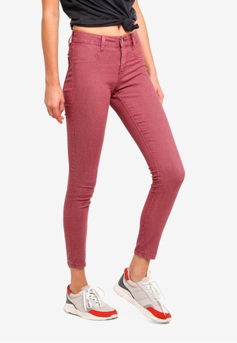 Cotton On pink Mid Rise Jeggings 6881AAABE05DBEGS_1