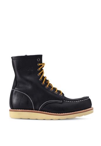 lumberjacks black Leather High Cut Boots 3B35BSHF85FA26GS_1