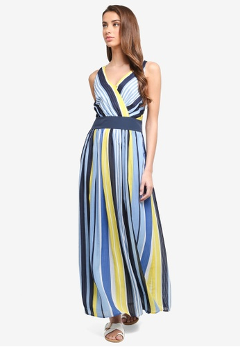 ESPRIT blue Light Woven Long Dress DA868AA7190F81GS_1