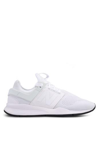 New Balance white 247 Lifestyle Classic Shoes A5E41SH4D86BD1GS_1