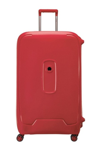 Delsey red Moncey Wheeled Luggage FCB11ACF296B7FGS_1