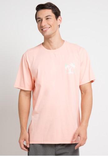 hurley pink Bail T-Shirt 3FD8FAAEB1E7BEGS_1