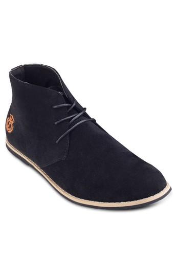 esprit hk分店Chukka 布料繫帶踝靴, 鞋, 鞋