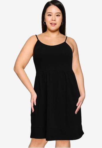 Only CARMAKOMA black Plus Size Kallon Life Dress 696C4AA83B8036GS_1