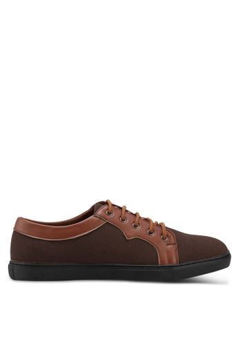 Rocklander brown Dual Tone Lace Up Shoes C65F2SH506E5A4GS_1