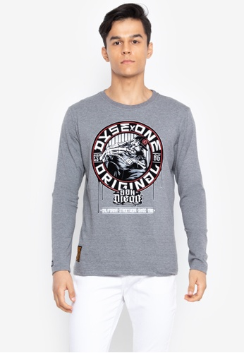 Shop Dyse One Graphic Print Long Sleeves T-Shirt Online on ZALORA  Philippines 325ca6cbc470