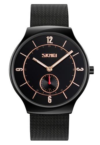 Digitec black Skmei - Jam Tangan Pria - Black - Stainless Steel - 9163-A 195A0ACE020CDBGS_1
