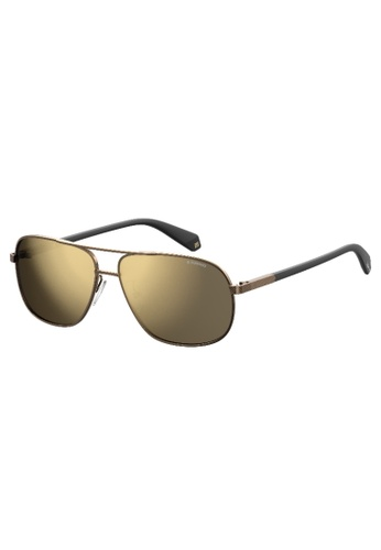 Polaroid PLD 2074/S/X Sunglasses 7E92DGL1F3B33BGS_1