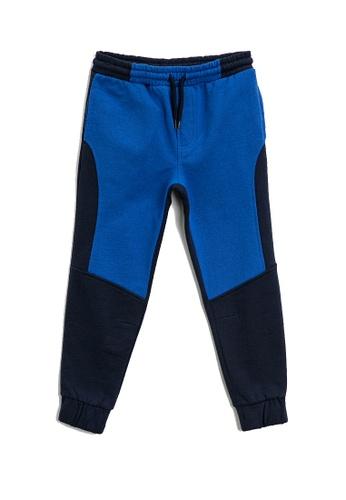 KOTON blue Casual Sweatpants 93740KACD44EEEGS_1