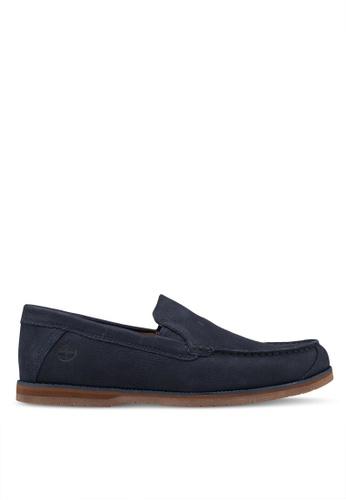 Timberland navy Bluffton Venetian Shoes 5092FSH66F501EGS_1