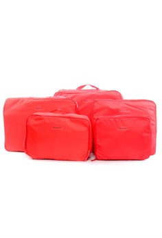 Maximize Your Luggage Space with 5Piece Waterproof Packing Cubes