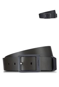 3b038d2ecc9c Calvin Klein green Clean Reversible Belt - Calvin Klein Accessories  19D6EACEA741D8GS 1