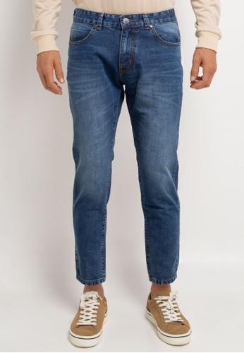 Denim Addict blue Slim Fit Long Denim Pants 597D7AA5B384D5GS_1