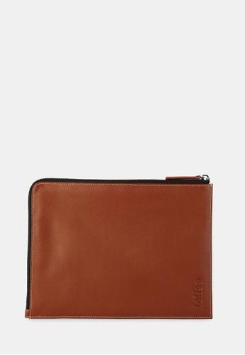 size 40 40e07 a71eb Leather Corner Sleeve, iPad Air 1/2, Tan