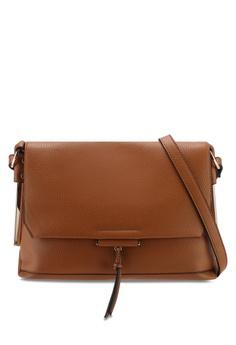 c12ead27a5cc31 Dorothy Perkins brown Tan Metal Side Cross Body Bag 59D2BAC3407142GS 1