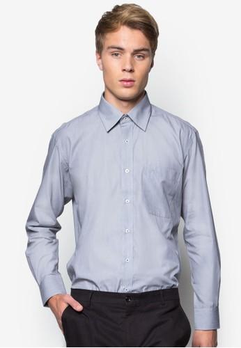 素色長袖商務襯衫, 服esprit台北門市飾, 服飾