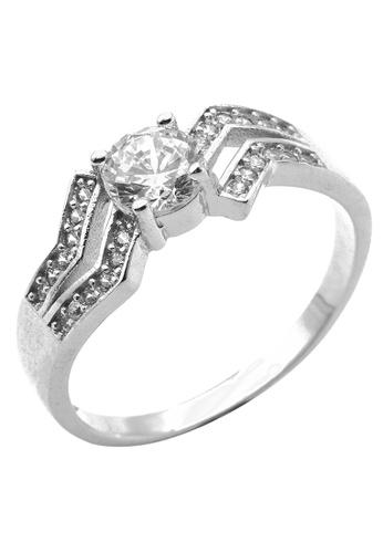 Elfi silver Elfi 925 Sterling Silver Engagement Wedding Fashion Ladies Ring P65 40FD2AC8E87CE1GS_1
