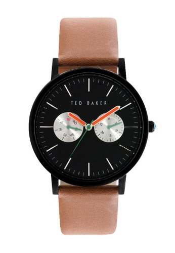 TED BAKER black and brown Ted Baker Men's 10024530 Smart Casual Watch AFEDAACAFA5B90GS_1