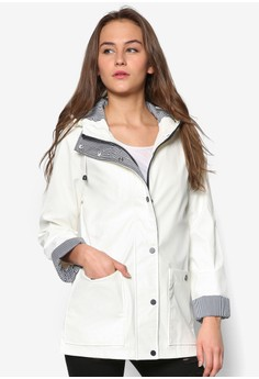 防風連帽雨衣外套
