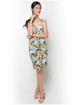 Tropical Stretch Dress