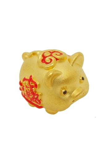 LITZ gold [Free Bracelet] LITZ 999 (24K) Gold Pig Charm EPC0628 71459AC1629AE7GS_1