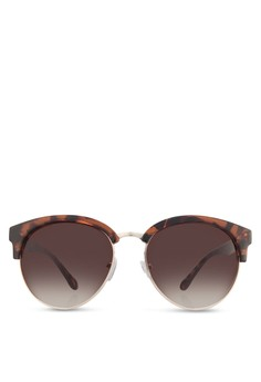 Clubmaster-Style Sunglasses