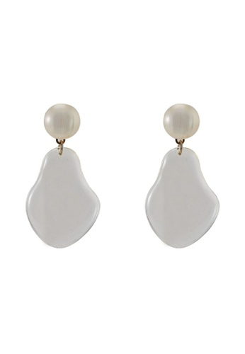 niko and ... white Drop Earrings 08775AC51C2458GS_1