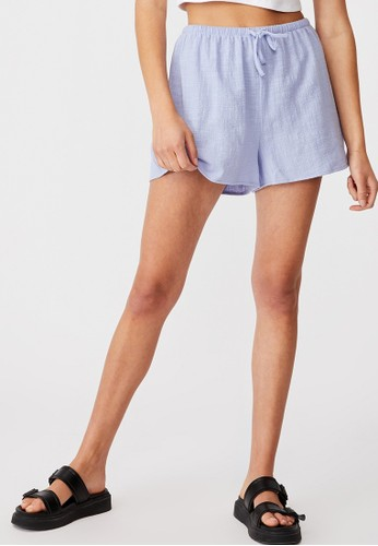Cotton On blue Cali Pull On Short 79800AAD6A2E4AGS_1